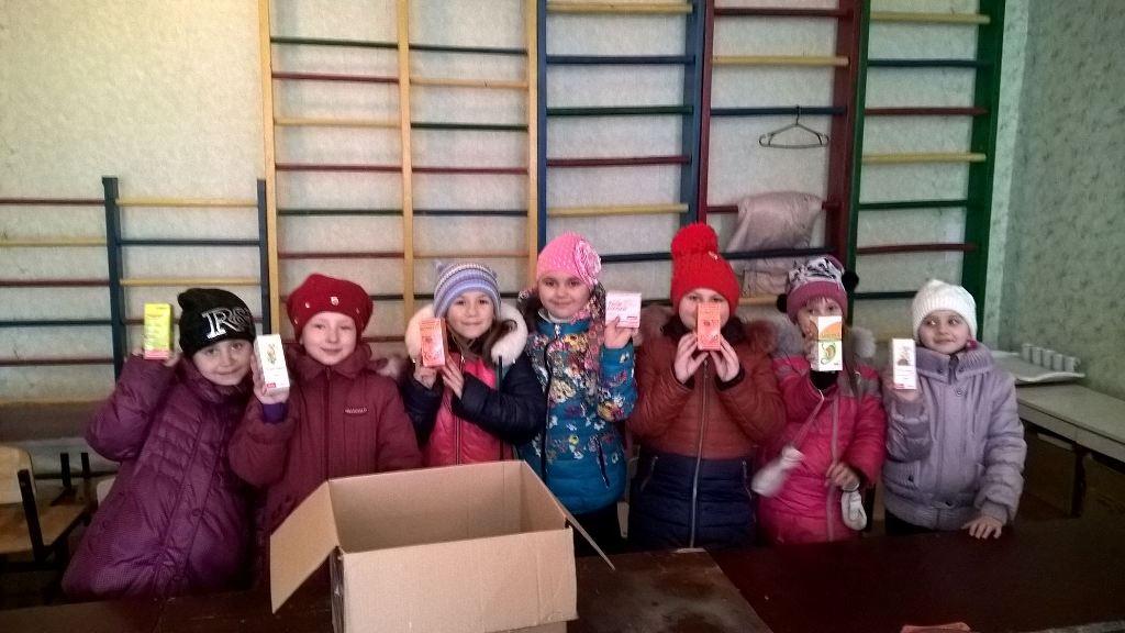 Kinder in der Ostukraine können wieder lachen - durch Spenden werden Medikamente finanziert (Bild: Samoylenko )